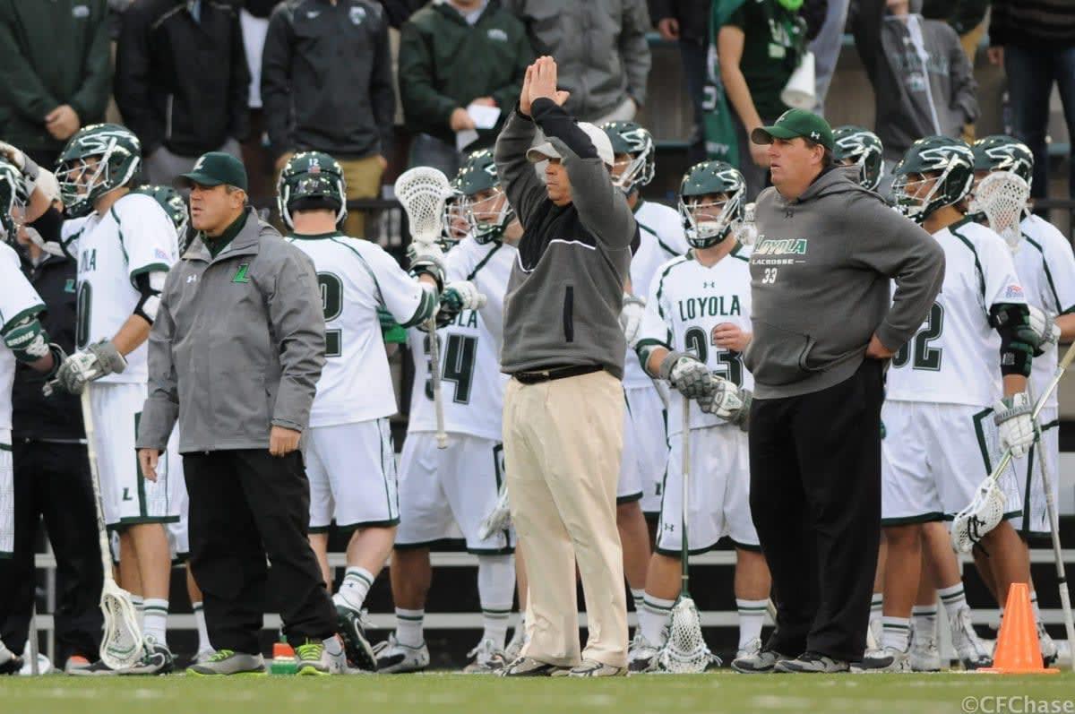 Loyola Mens lacrosse vs. Colgate Photo Credit: Craig Chase