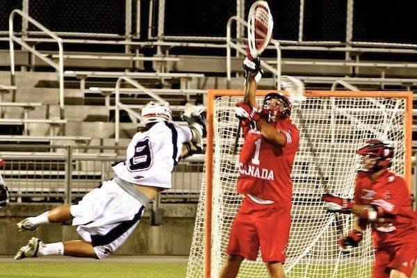 Matt Striebel, Team USA, International Lacrosse