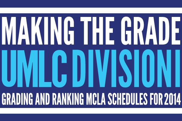 Making the Grade: UMLC Division 1