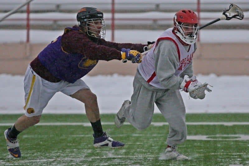 Iroquois vs Cortland State mens lacrosse