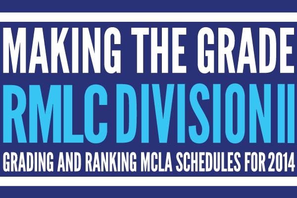 Making the grade: rmlc division 2