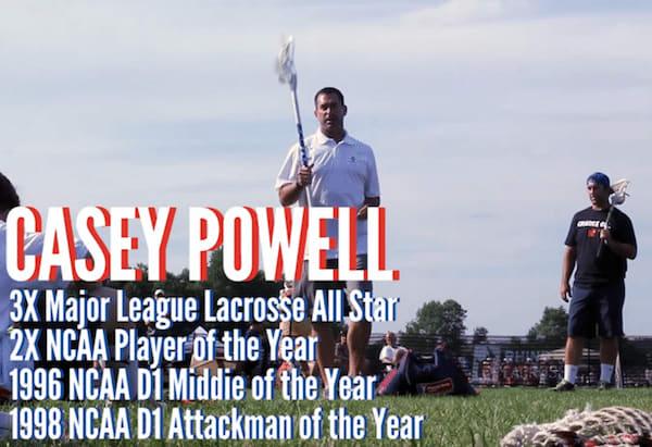 Lacrosse Legend Casey Powell on Greatness