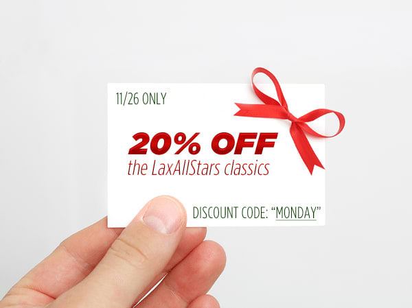 20% off in The Lacrosse Shop