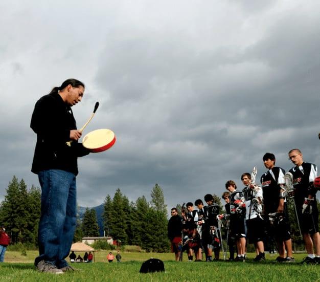 western native american lacrosse