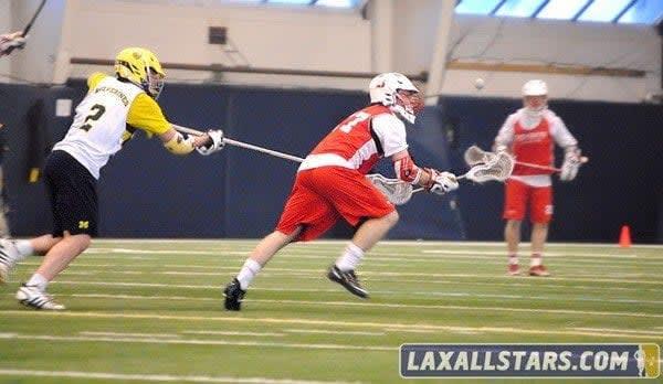 Michigan vs Denison Lacrosse Photo 16
