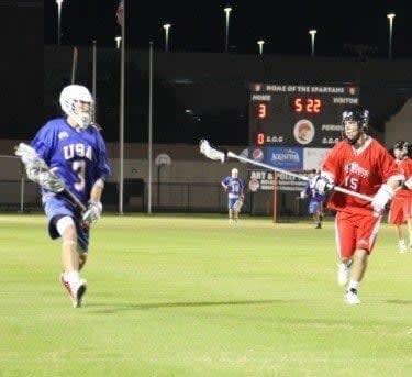 USA Canada Brogden Cup Lacrosse