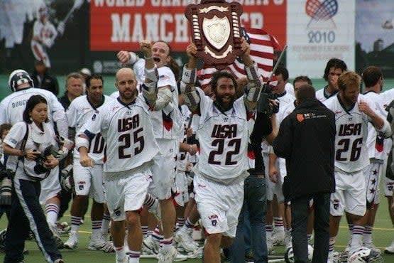 Best Lacrosse Player Ryan Powell Team USA 2010 World Champs lacrosse