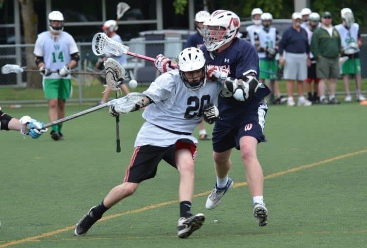 Lacrosse ride takeaway check loose ball