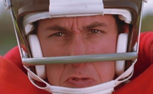 Adam Sandler water boy sports movies