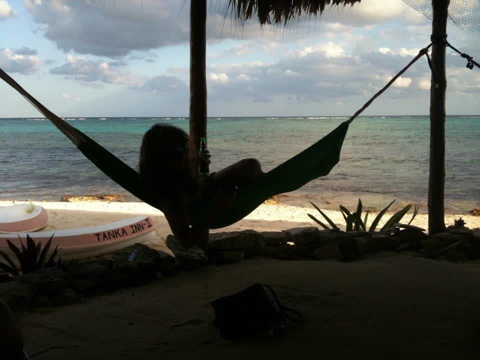 Tulum Mexico hammock ocean beach
