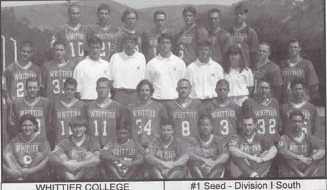 1996 Whittier Lacrosse cali dreamin lax