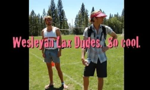 Wesleyan lax dudes