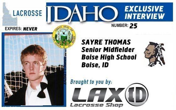 Lacrosse Idaho Exclusive Interview