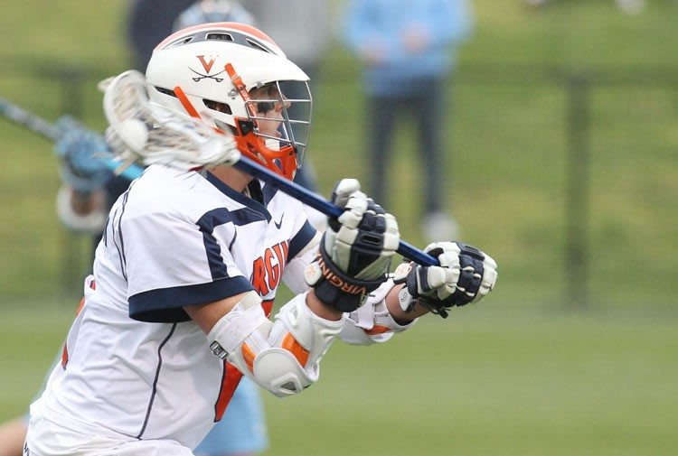 Steele Stanwick running the show. Virginia Cavalier Lacrosse