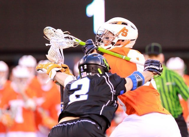 Cuse closes out Duke 13-11- 2 crosschecking