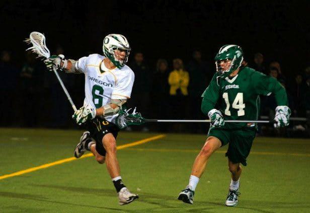 Oregon Michigan State Lacrosse lax MCLA