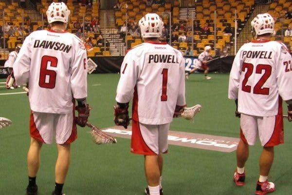 Powell Brothers and Dan Dawson, Boston Blazers