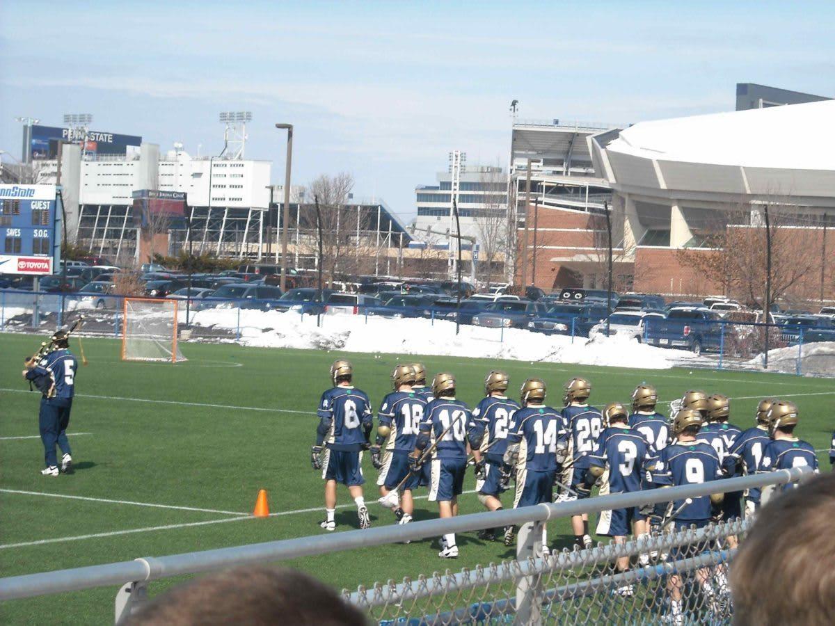 Penn State Lacrosse Notre Dame