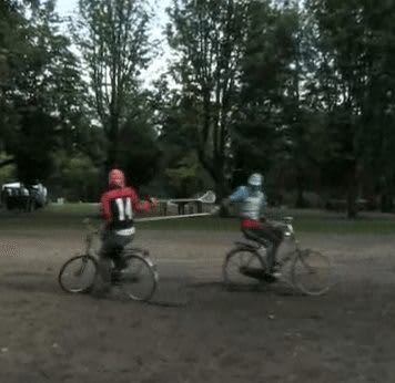 Dutch Lacrosse jousting bikes bicycle