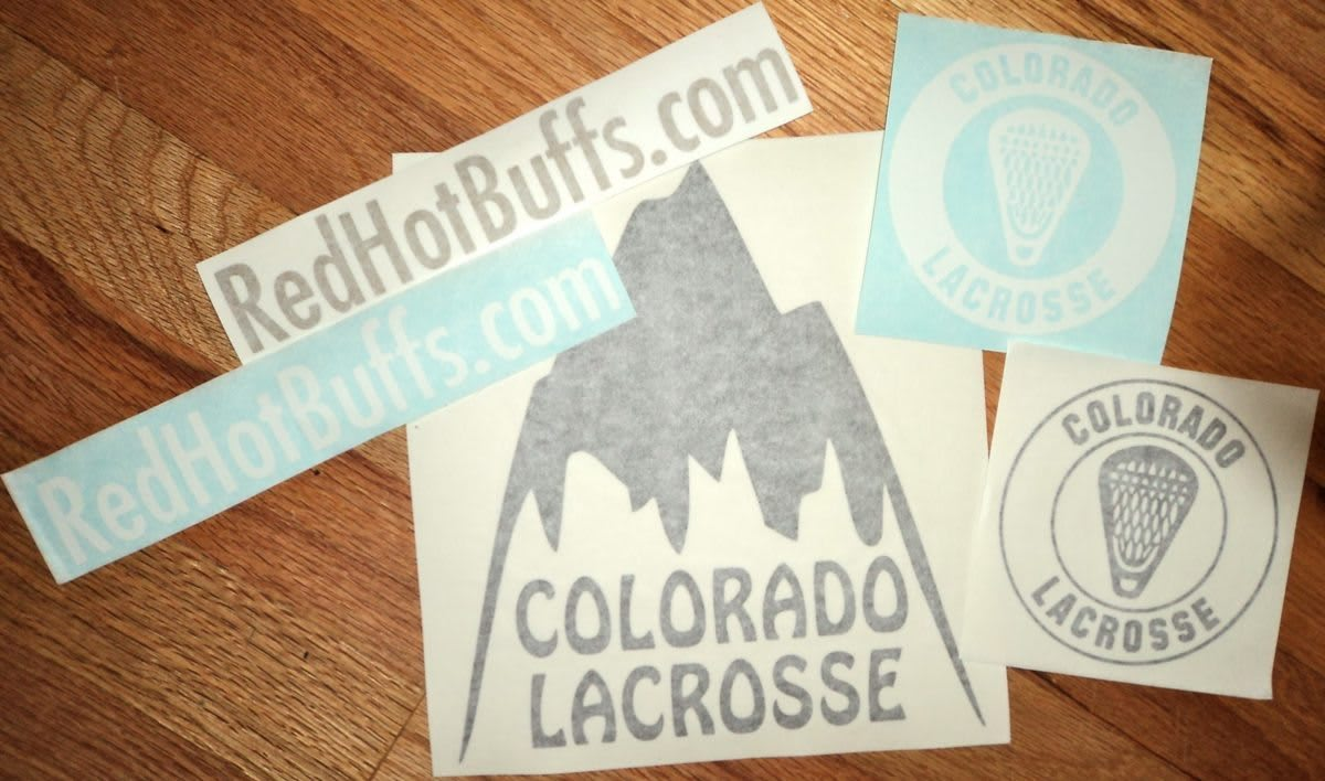 Colorado Lacrosse stickers