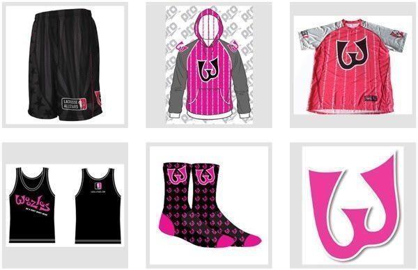 Woozle Lacrosse gear pre-sale