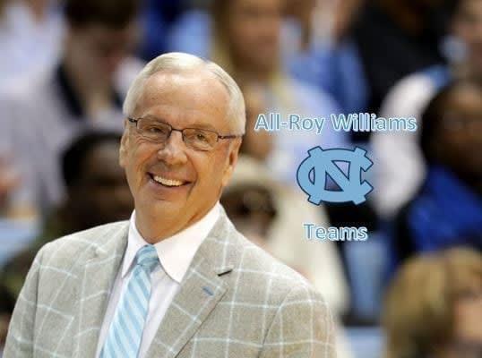 All-Roy Williams UNC Teams