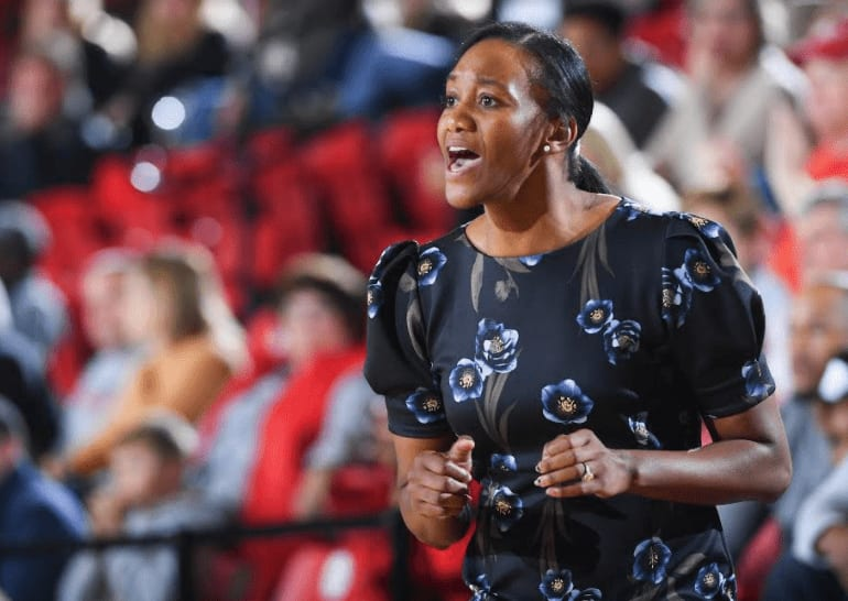 Alex Simmons is a Tennessee basketball legend, having spent her high school, college and some coaching days in the state. But there's more to her than that.
