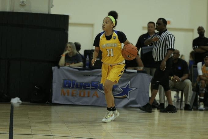 Jada Walker is a fantastic basketball player, but what you probably don't know is the role that art plays in her life and how it helps to calm her.