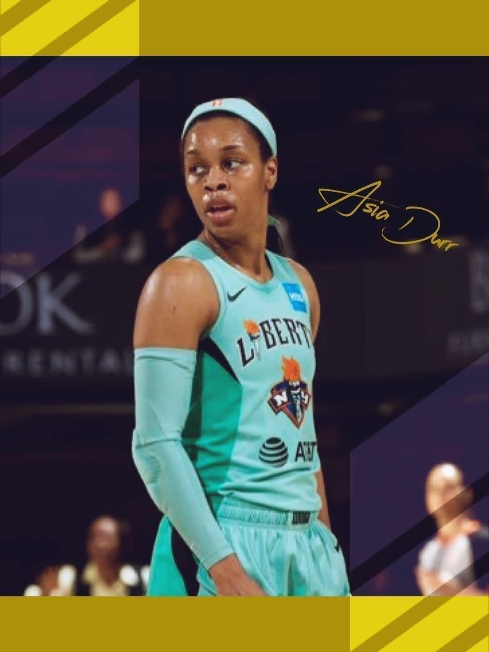 Asia Durr opened up about her long-term struggles with COVID-19 that forced her to opt out of the 2020 season and put her basketball career into question.