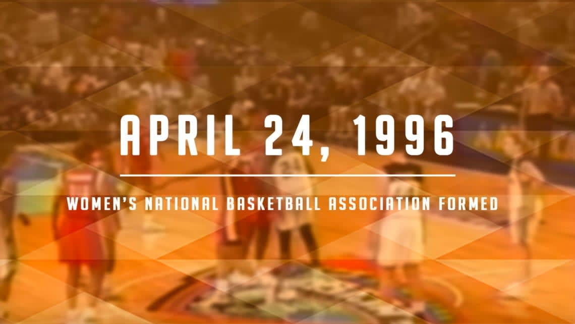 NBA Board of Governors Launch WNBA April 24, 1996