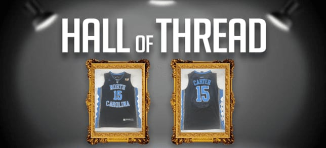 Before becoming an NBA icon, Vince Carter was tearing it up in Chapel Hill for North Carolina. Logan Meyer shares his unique jersey from his college days.