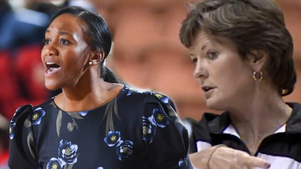 Gardner-Webb women's basketball head coach Alex Simmons learned a lot of what she knows from Pat Summitt while playing for her in college at Tennessee.