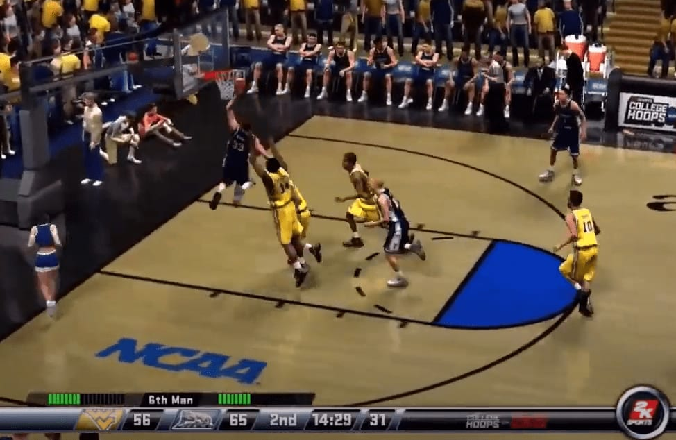 Chase Harler is totally at fault for West Virginia losing to BYU, 97-90, in the Final Four of Reddit's virtual tournament.