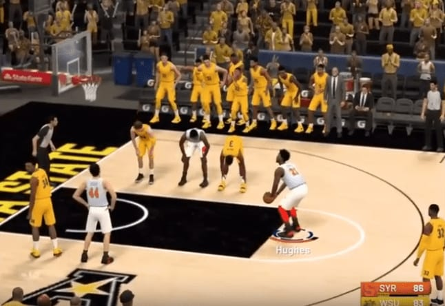 The Syracuse-Wichita State in the second round of the Virtual NIT is proven to have been fixed, proving that you have not yet seen it all.