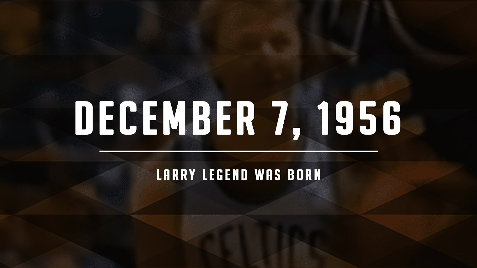 On this day 63 years ago, Larry Bird was born in West Baden Springs, Indiana. He went on to become one of the most iconic basketball players of all time.
