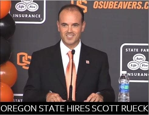 In 2010, Oregon State hired Scott Rueck as its fifth women's basketball head coach to take over a program in total shambles.