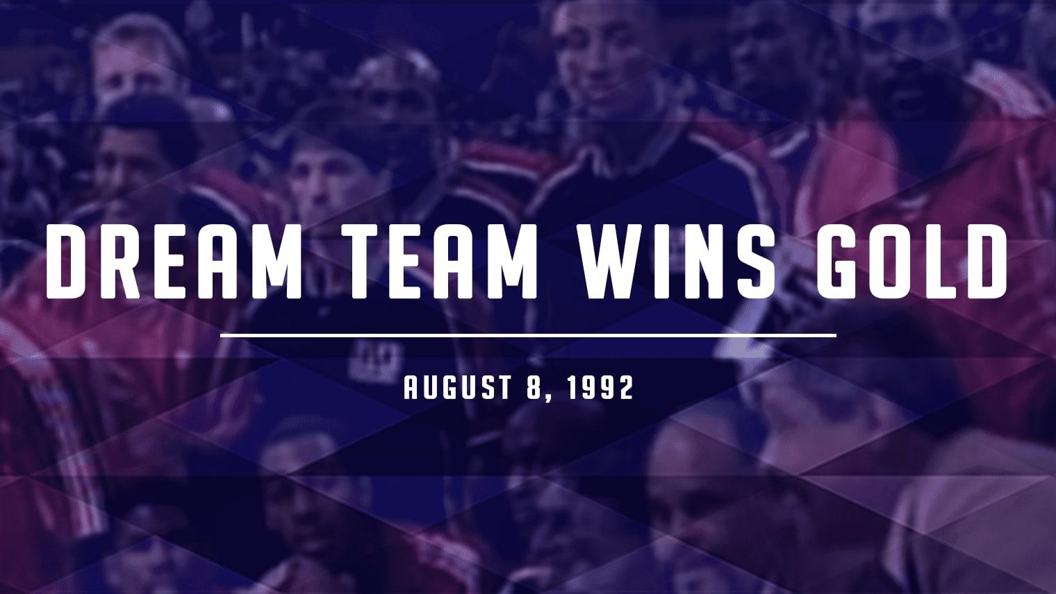 Dream Team Wins Gold in Barcelona