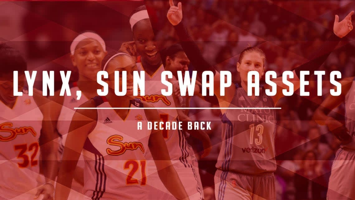 Lynx, Sun Swap Top Picks and Players in 2010 Blockbuster