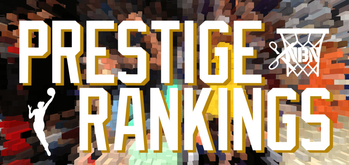 WNBA Prestige Rankings   1997-2019   Criteria + Defunct Teams