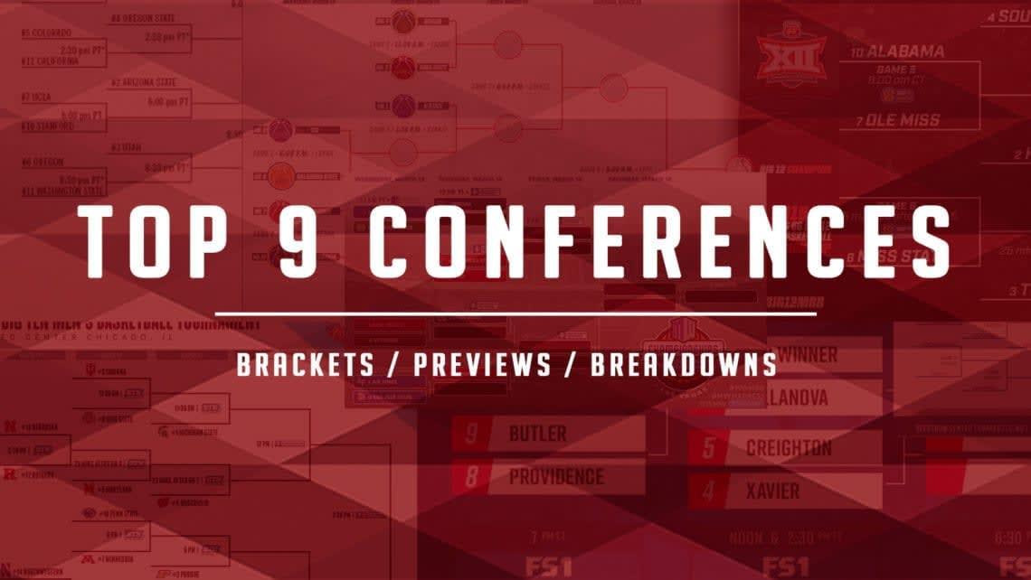 top 9 conferences tourney