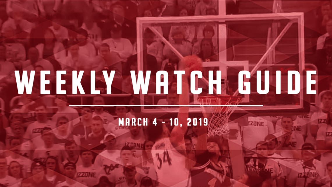 Weekly Watch Guide: March 4-10