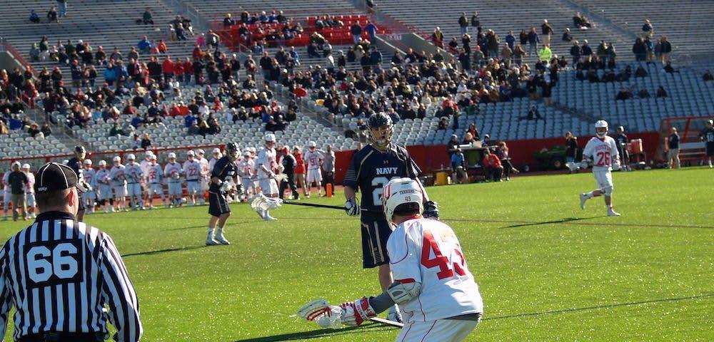 Boston University BU lacrosse navy beanpot