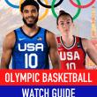 Olympics basketball schedule