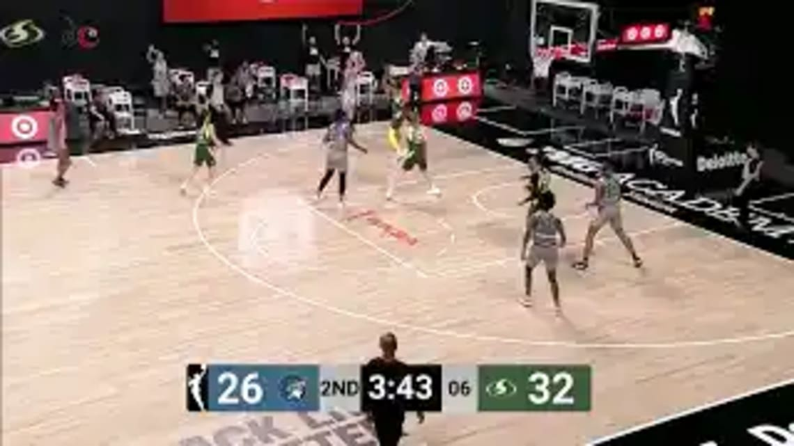 The Seattle Storm took care of the Minnesota Lynx, 90-66, to jump to 2-0 to start the 2020 WNBA campaign behind fantastic unselfish ball movement.