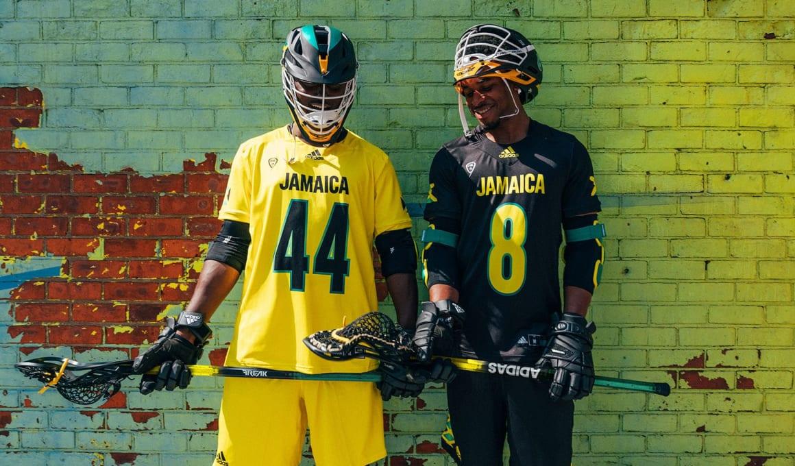 adidas partner with team jamaica