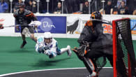 Rochester Knighthawks at New England Black Wolves NLL 2017