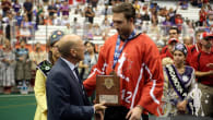 Mark Matthews Canada Wins WILC 2015 Over the Iroquois Nationals
