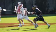 Boston University BU lacrosse navy