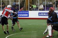 LASNAI 2017 LaxAllStars North American Invitational box lacrosse Onondaga Nation LCC Custodes Music City photo: Jeff Melnik