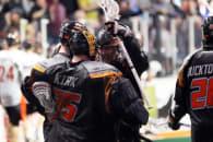 Buffalo Bandits at New England Black Wolves NLL 2017 Photo- Jeff Melnik Conquest Sports Imaging